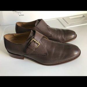 COLE HAAN Williams II Monk Strap Shoe Size 9.5 M
